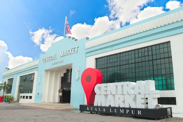 Popular tourist site Central Market Kuala Lumpur in Kuala Lumpur