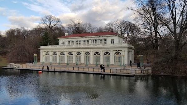 Popular tourist site Prospect Park in Brooklyn