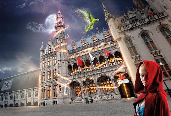 Popular tourist site Historium Bruges in Bruges