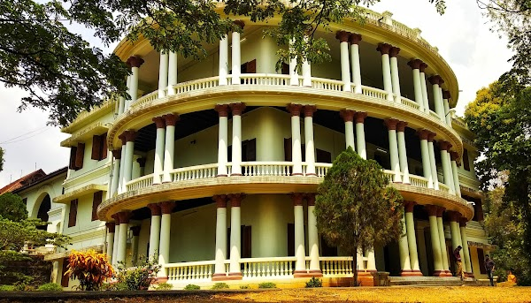 Popular tourist site Hill Palace Museum in Cochin