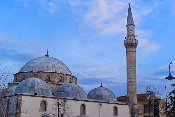 Popular tourist site Tekeli Mehmet Pasa Mosque in Antalya