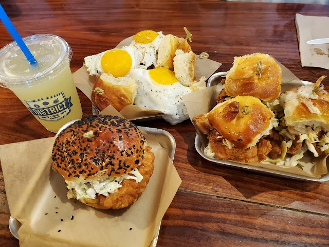 District Donuts Sliders Brew photo
