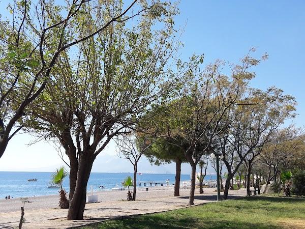 Popular tourist site Beach Park in Antalya