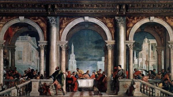 Popular tourist site Gallerie dell'Accademia in Venice