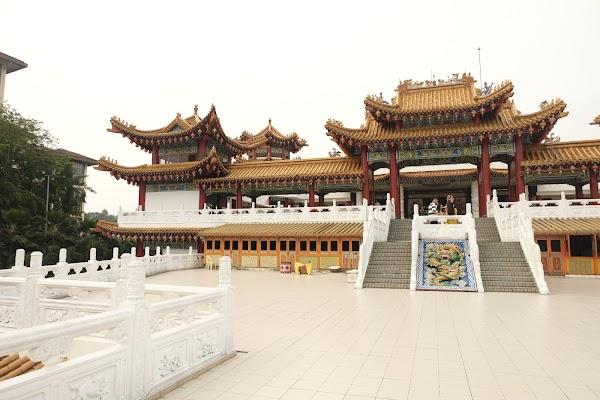 Popular tourist site Thean Hou Temple in Kuala Lumpur