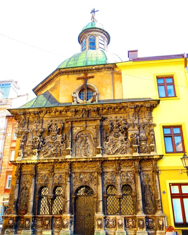 Popular tourist site Chapel of the Boim Family in Lviv