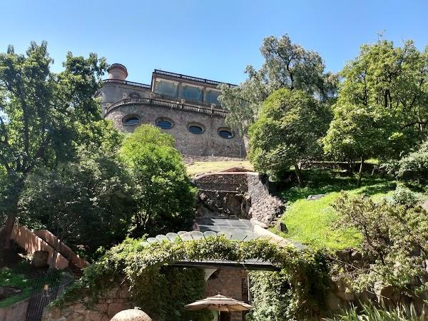 Popular tourist site Chapultepec Castle in Mexico City
