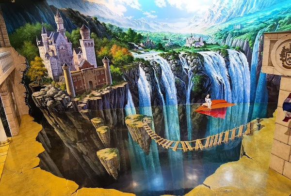 Popular tourist site Art In Paradise in Bangkok