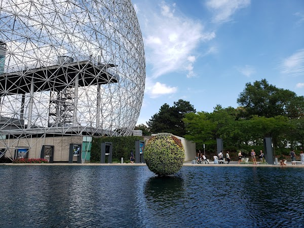 Popular tourist site Biosphere Environmental Museum in Montreal