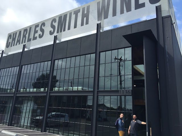 Charles Smith Wines Jet City banner backdrop