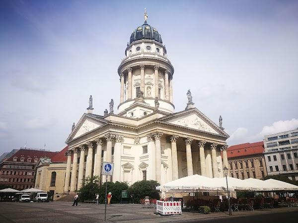 Popular tourist site Gendarmenmarkt in Berlin