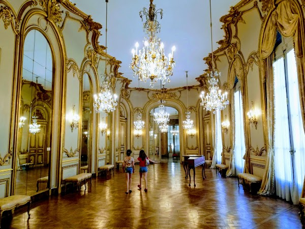 Popular tourist site Museo Nacional de Arte Decorativo in Buenos Aires