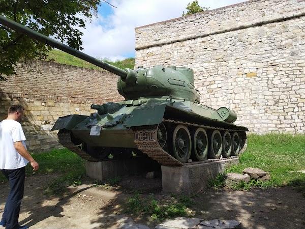Popular tourist site Military Museum in Belgrade
