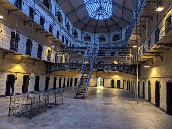 Popular tourist site Kilmainham Gaol in Dublin