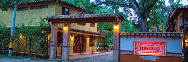 Popular tourist site Tonusco Campestre in Santa Fe de Antioquia