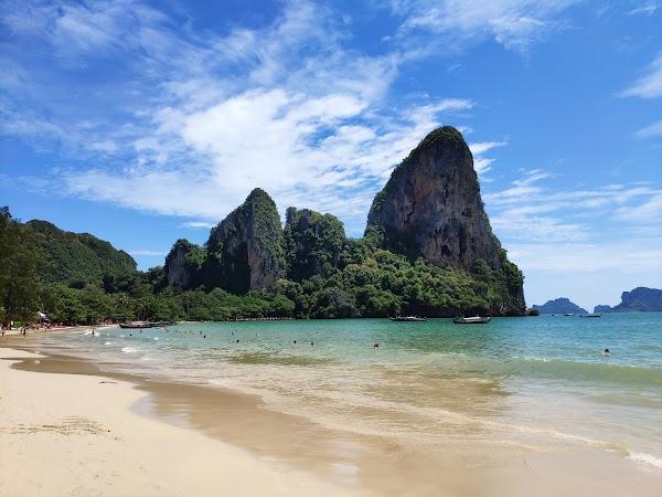 Popular tourist site Railay Beach in Krabi