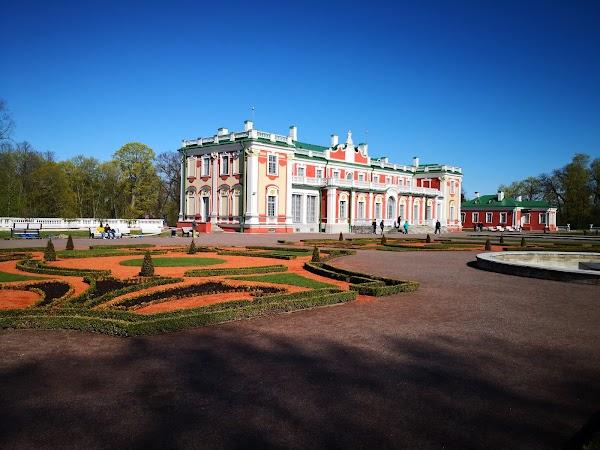 Popular tourist site Kadriorg Art Museum in Tallinn