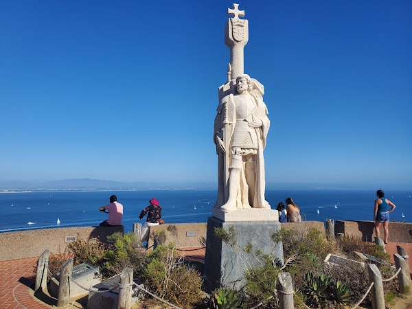 Popular tourist site Cabrillo National Monument in San Diego