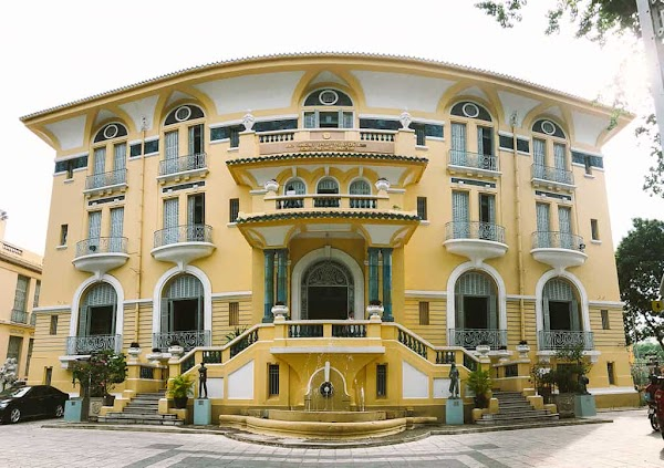 Popular tourist site Hồ Chí Minh City Museum of Fine Arts in Ho Chi Minh City