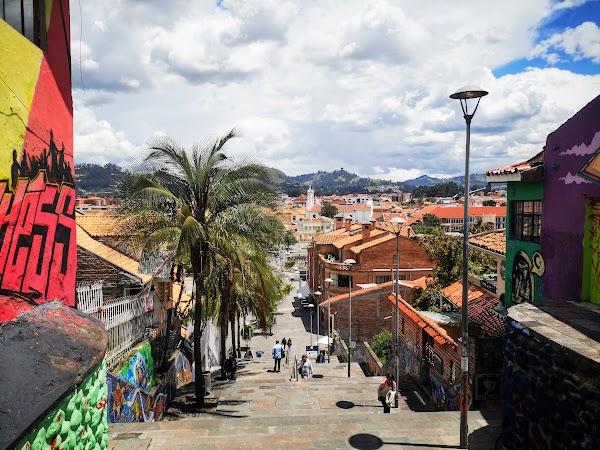 Popular tourist site Plaza El Otorongo in Cuenca