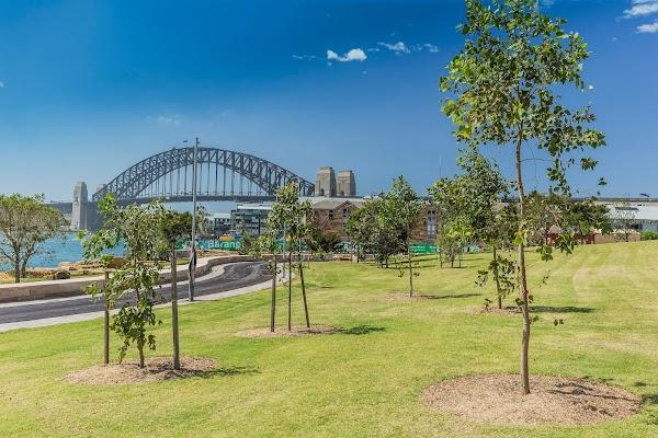 Popular tourist site Barangaroo Reserve in Sydney