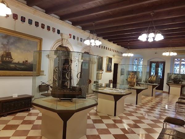 Popular tourist site Maritime Museum in Kotor