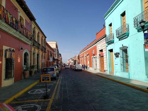 Popular tourist site Andador Turístico in Oaxaca