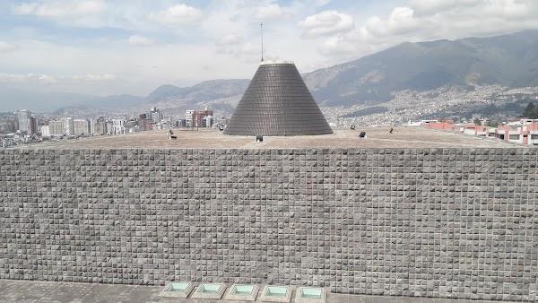 Popular tourist site Capilla del Hombre in Quito