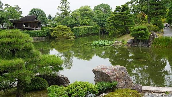 Popular tourist site Katsura Imperial Villa in Kyoto