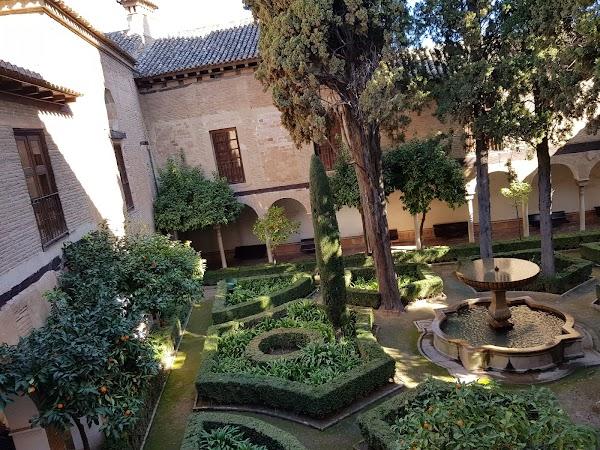 Popular tourist site Nasrid Palaces in Granada