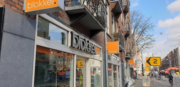 Blokker Amsterdam Zeilstraat Amsterdam