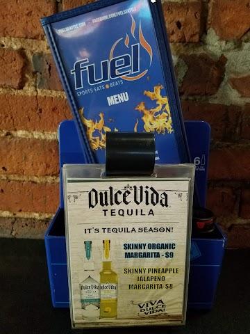 Fuel Sports banner backdrop