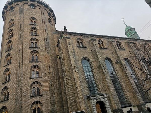 Popular tourist site The Round Tower in Copenhagen