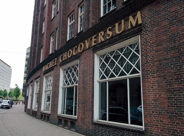 Popular tourist site CHOCOVERSUM Chocolate Museum in Hamburg