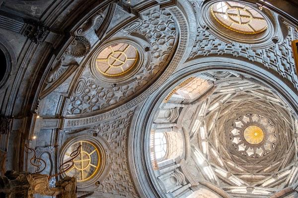 Popular tourist site Cappella della Sacra Sindone in Turin
