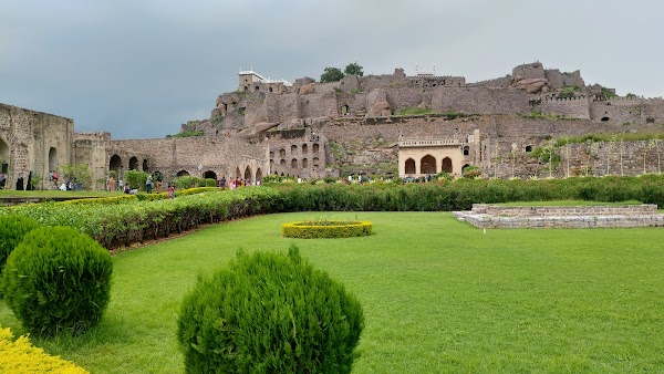 Popular tourist site Golconda Fort in Hyderabad