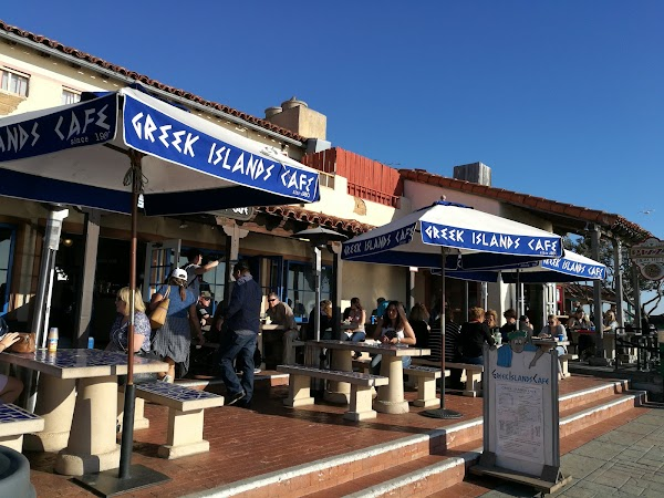 Popular tourist site Seaport Village in San Diego