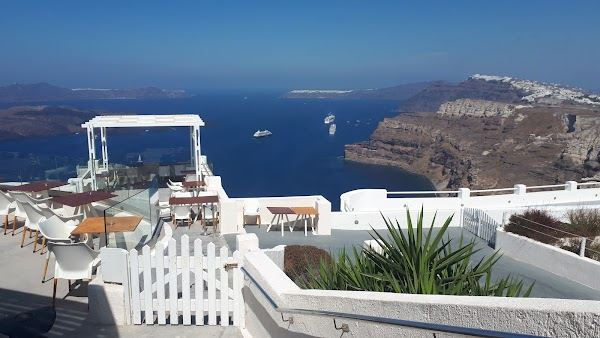 Popular tourist site Santo Wines in Santorini