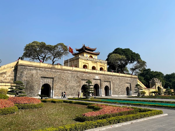 Popular tourist site Thăng Long Imperial Citadel in Hanoi
