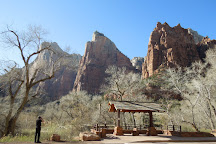 Court of the Patriarchs, Zion National Park, United States