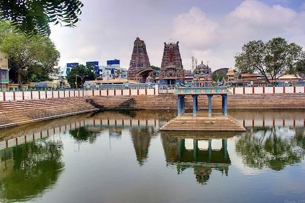 Popular tourist site Vadapalani Murugan Temple in Chennai