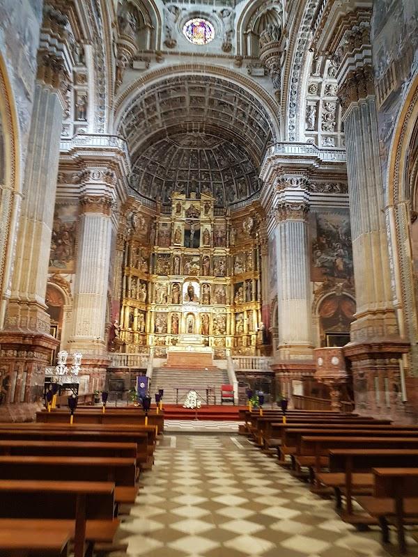Popular tourist site Monasterio de San Jerónimo, Granada in Granada