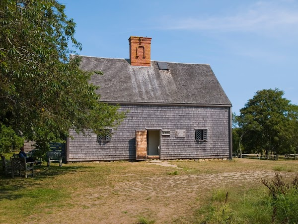 Popular tourist site Oldest House in Nantucket