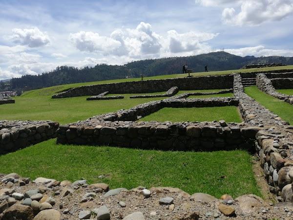 Popular tourist site Ruinas de Pumapungo in Cuenca