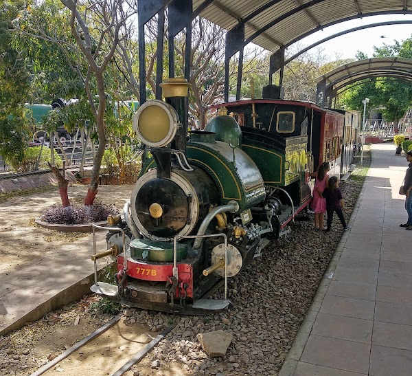 Popular tourist site National Rail Museum in New Delhi