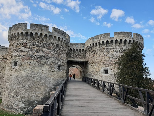 Popular tourist site Belgrade Fortress in Belgrade