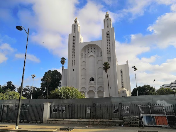 Popular tourist site Cathédrale Sacré Coeur in Casablanca