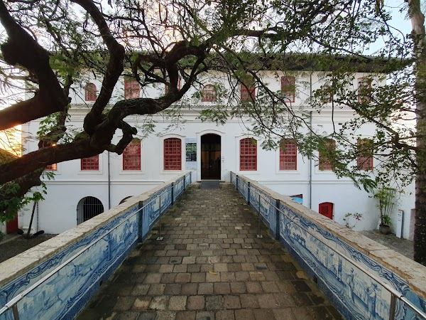 Popular tourist site House and Chapel of the Former Quinta do in Salvador
