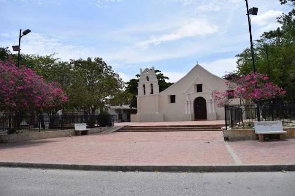 Popular tourist site Iglesia de Mamatoco in Santa Marta