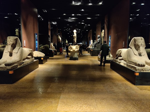 Popular tourist site Egyptian Museum in Turin